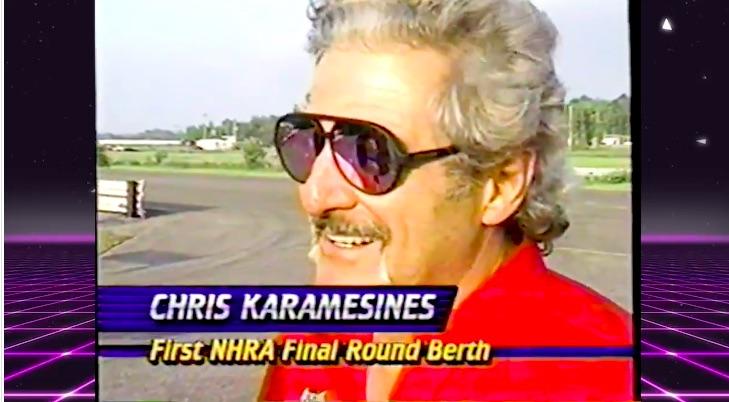 The Greek's Great Weekend: Watch Chris Karamesines Make His First Career NHRA Final Round In Montreal Circa 1990