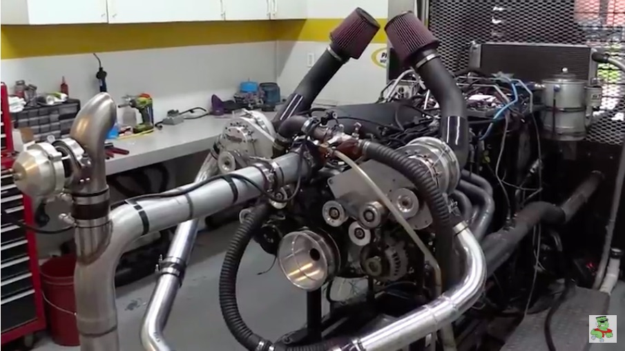 Twin Blown: This 1,100hp LS Engine Does Not Use Turbos But Rather Two TorqStorm Centrifugal Blowers