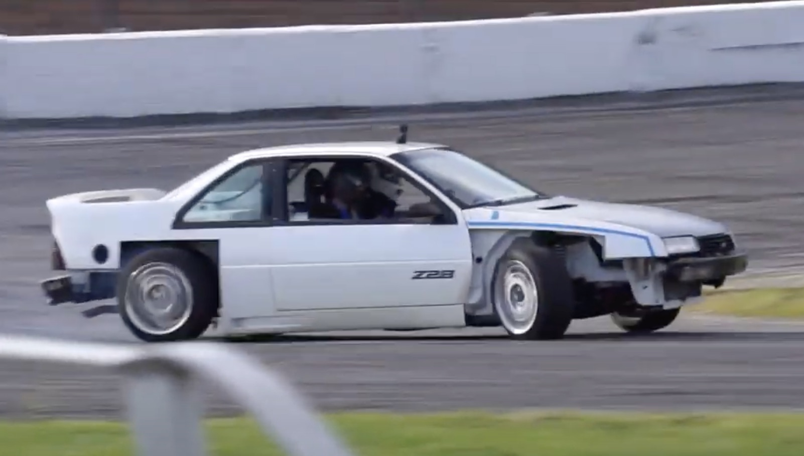Drift Beretta: How Chevy's Front-Drive Two-Door Got Blended With A Camaro To Create This Monster!