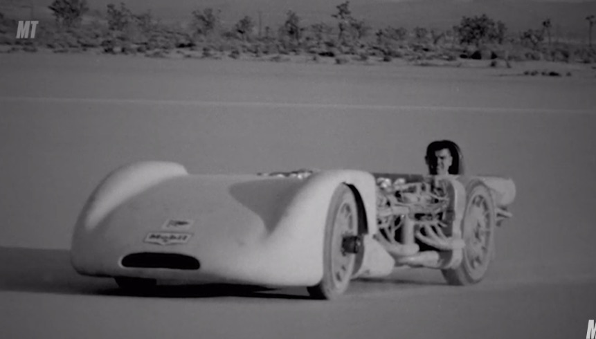 Fun History: This Short Motor Trend Documentary Tells The Tale Of Mickey Thompson Running 400 MPH!