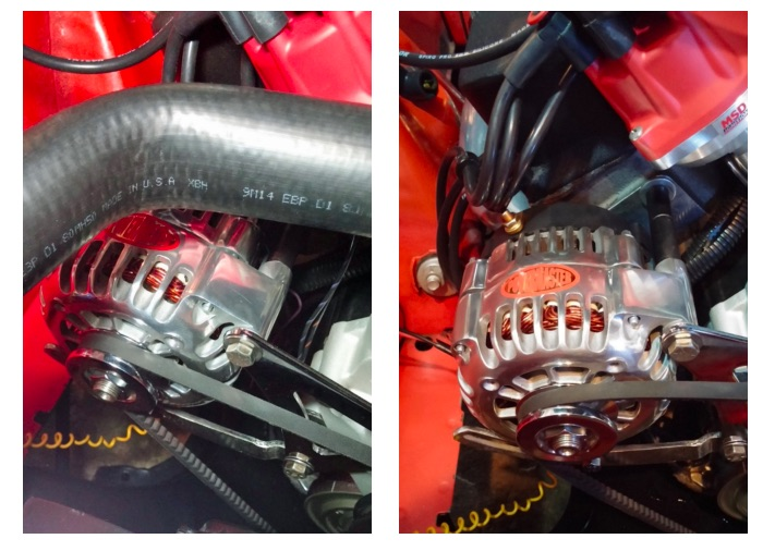Mopar Alternator Comparison: Stock vs Powermaster Original Look vs Powermaster 220amp Upgraded Alternator