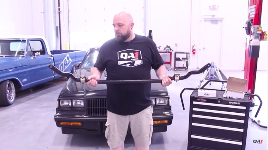 Suspension Tech Video: Learn All About The Benefits Of Tubular Sway Bars From The Crew At QA1