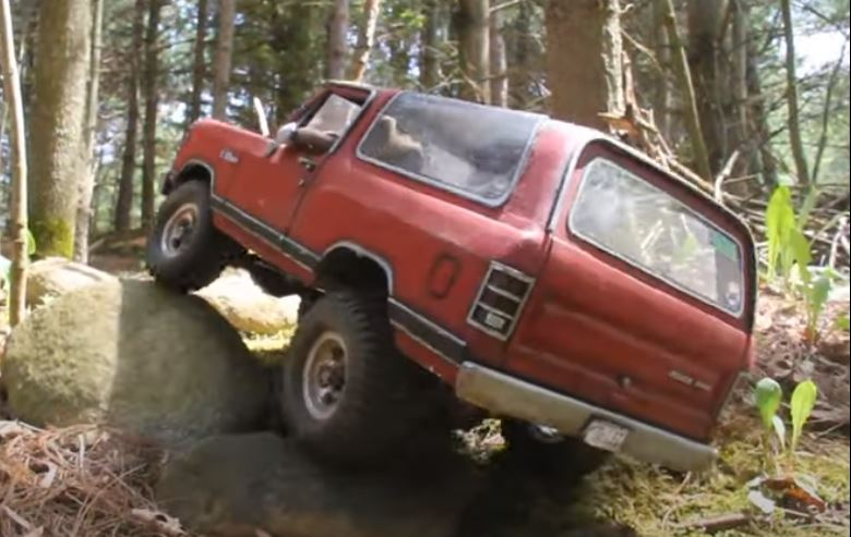 Scaling The Backcountry: Headquake's Ramcharger Carving Trails In The Yard