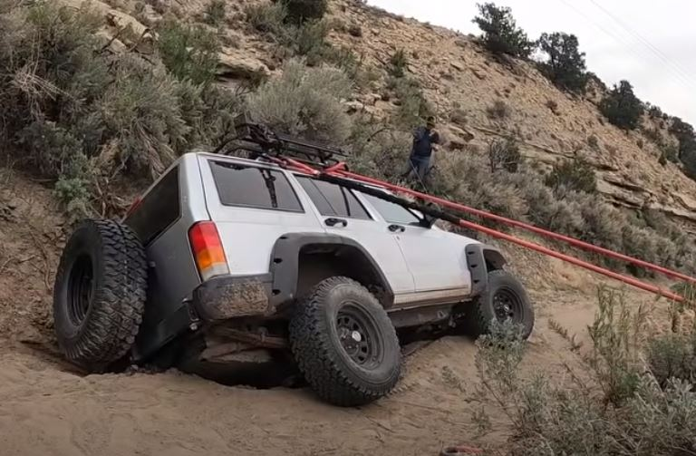Down In A Hole: How Do You Recover An XJ That's Sinking To China?