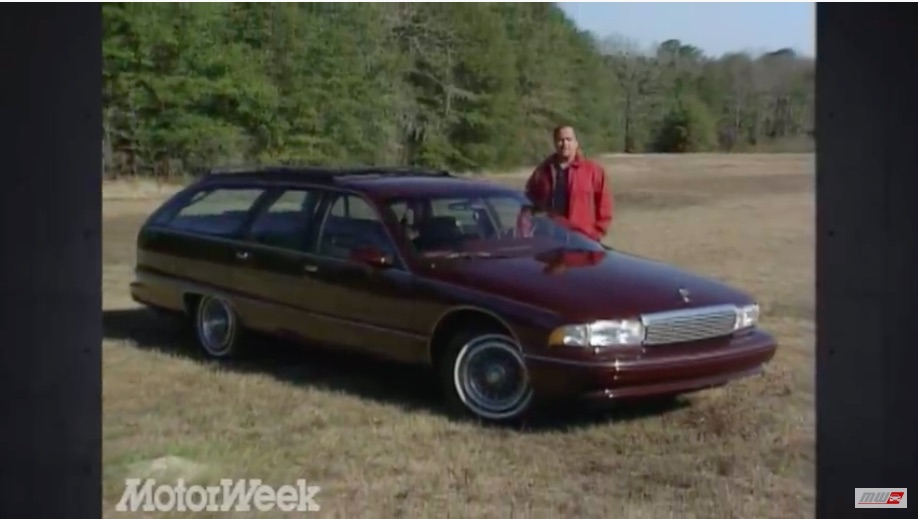 The End Of The Line: This Review Of The 1991 Chevrolet Caprice Station Wagon Shows The End Of An Era