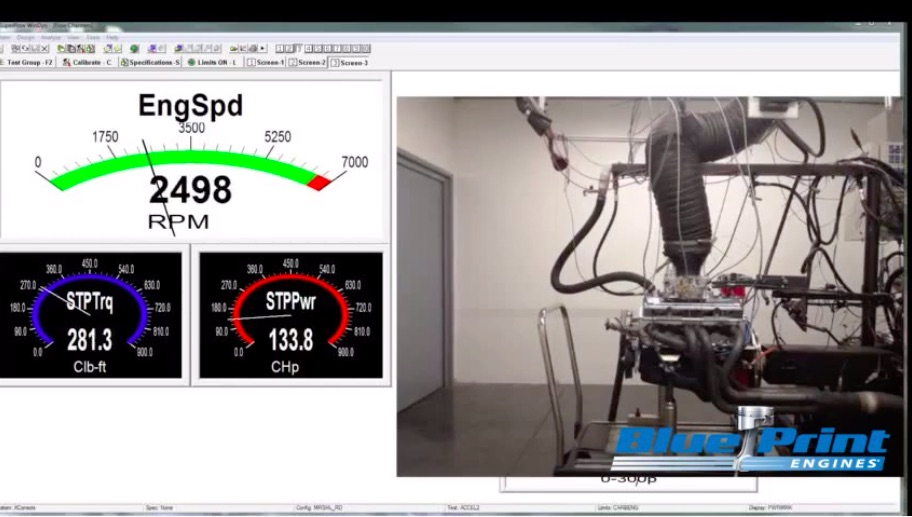 Dyno Video: Watch This 383ci BluePrint Engine Go Through Its Dyno Paces!