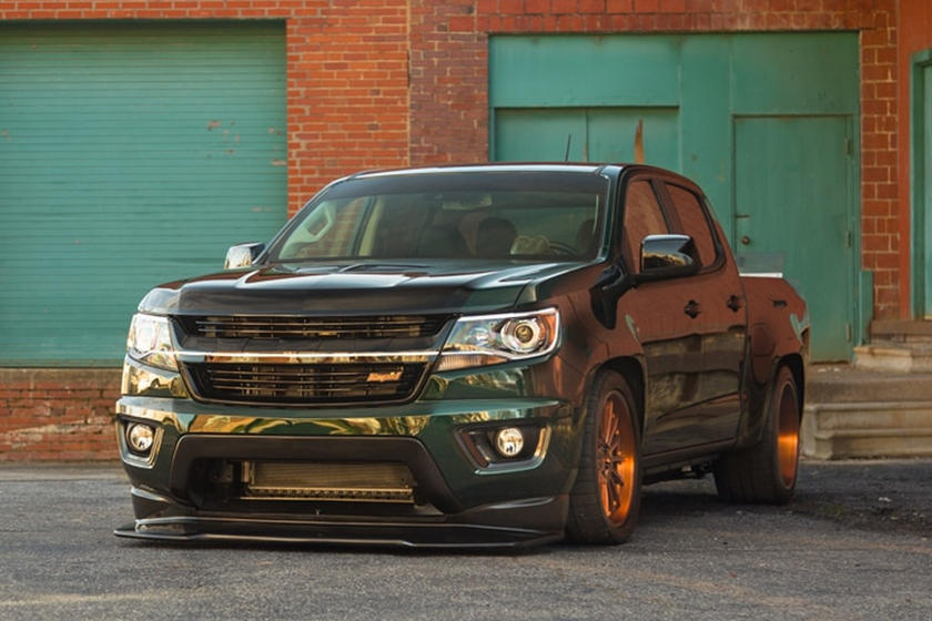 The Mallet Performance Widebody Colorado Is A 700hp, Blown, Small Truck From Hell