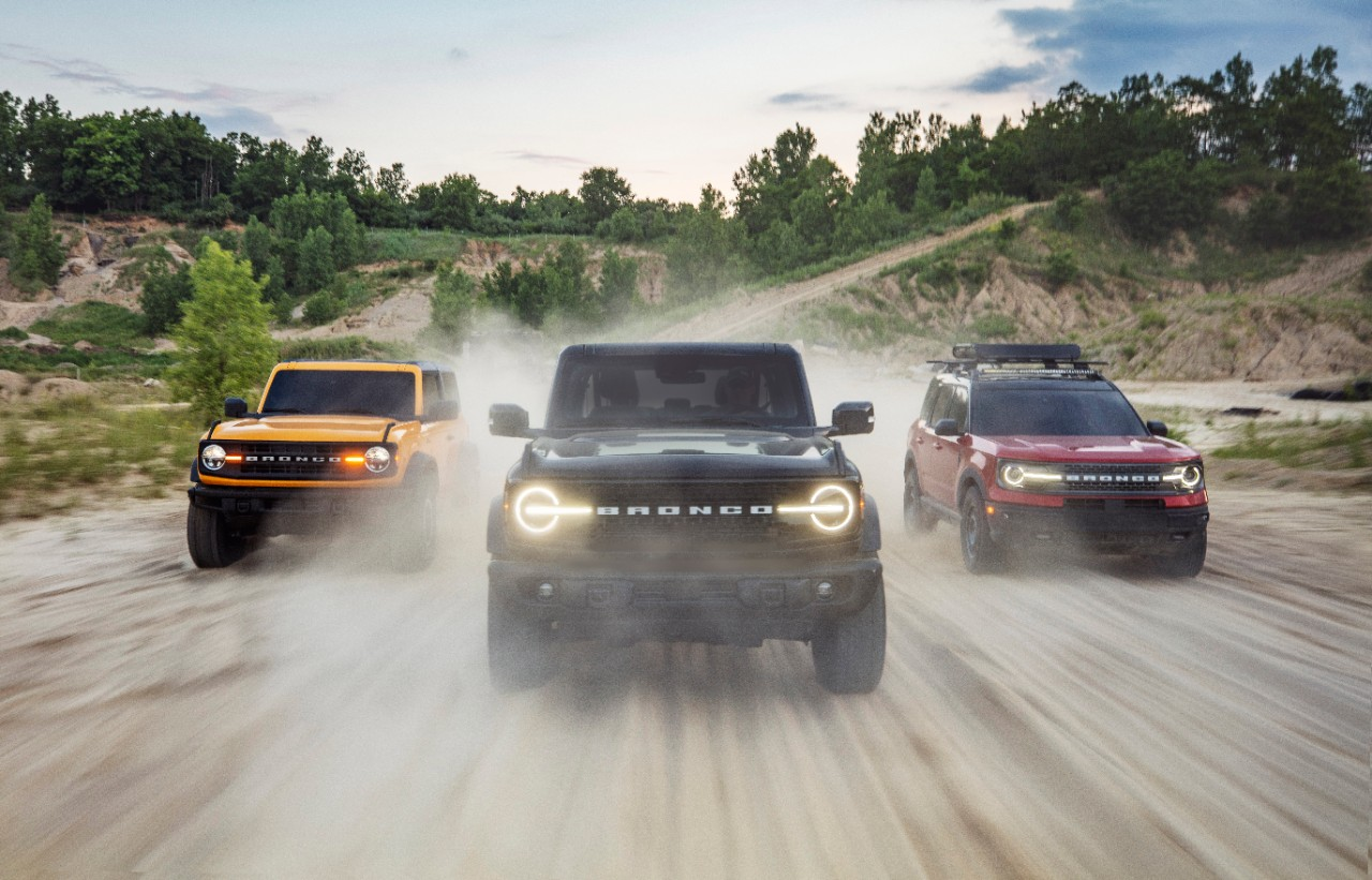 Unveiled: 2021 Ford Bronco and Bronco Sport