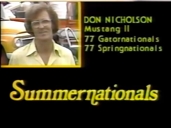 Polyester Perfection: Watch The 1977 NHRA Summernationals Right Here – Big Names, Big Heat, Big History