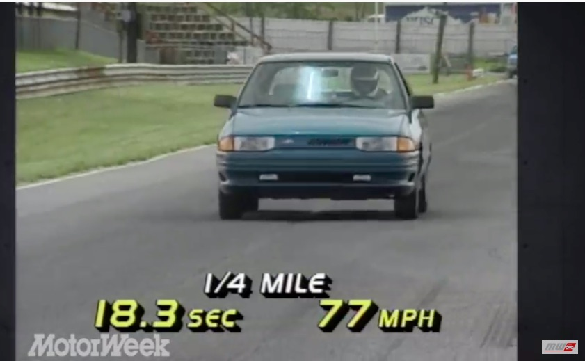 Memory Test: The 1993 MotorWeek Road Test Of A Ford Escort GT Proved Our 13 Year Old Opinions Correct
