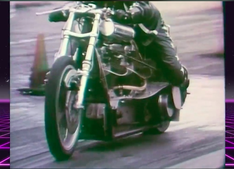 Nitro Time Machine Video: Watch Joe Smith On His King Rat Fuel Bike Win The 1974 US Nationals