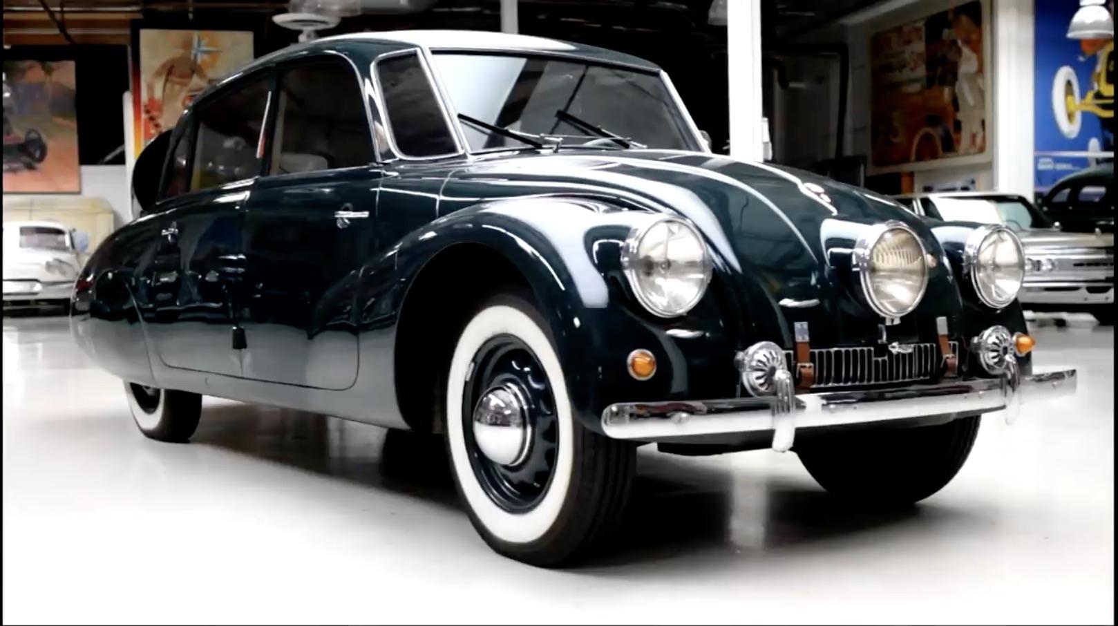 Czechmate: Jay Leno Shows Off His 1938 Tatra T87