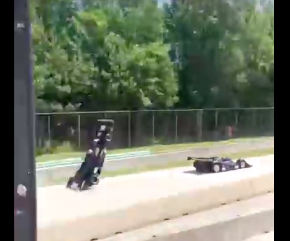 Flight Of The Shadow: Jim Pace Suffers Incredible Crash At Wheel Of Shadow DN4 At Road America – Walks Away
