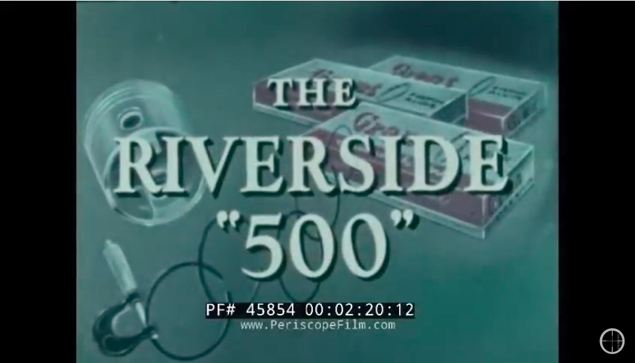 Twisted Steel and Sex Appeal: Watch This Neat Film Made At The 1964 NASCAR Riverside 500 In California