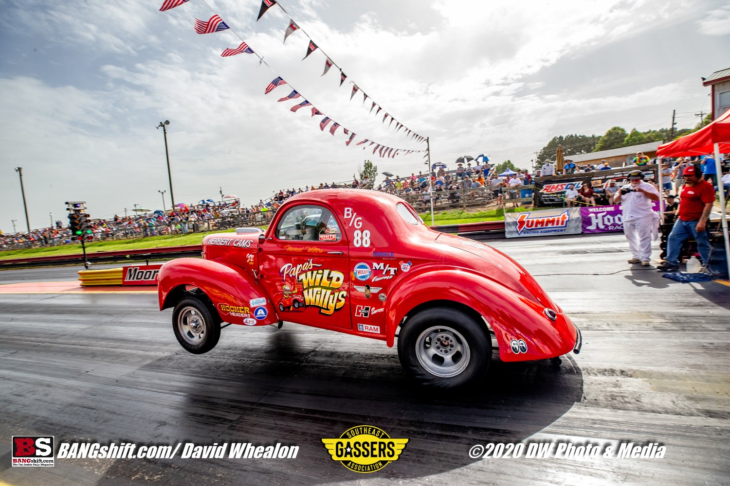 Southeast Gassers Action Photos: More Great Images From These Leaping Beasts At Mooresville Dragway