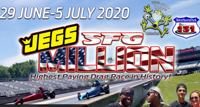 The SFG $1.1 Million Dollar Race Is On! Racing Action Starts Right Here At 8am!