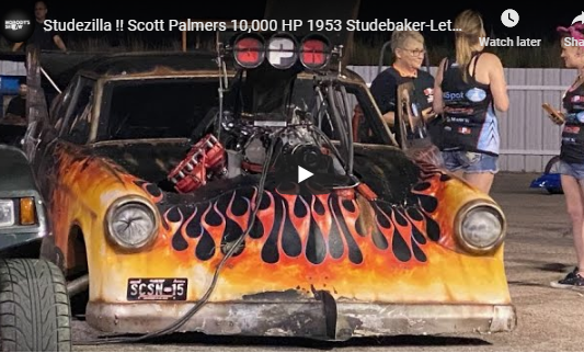 """Studezilla: """"This Is The Most Bad Ass Thing I've Ever Stepped On The Gas In."""" Scott Palmer"""