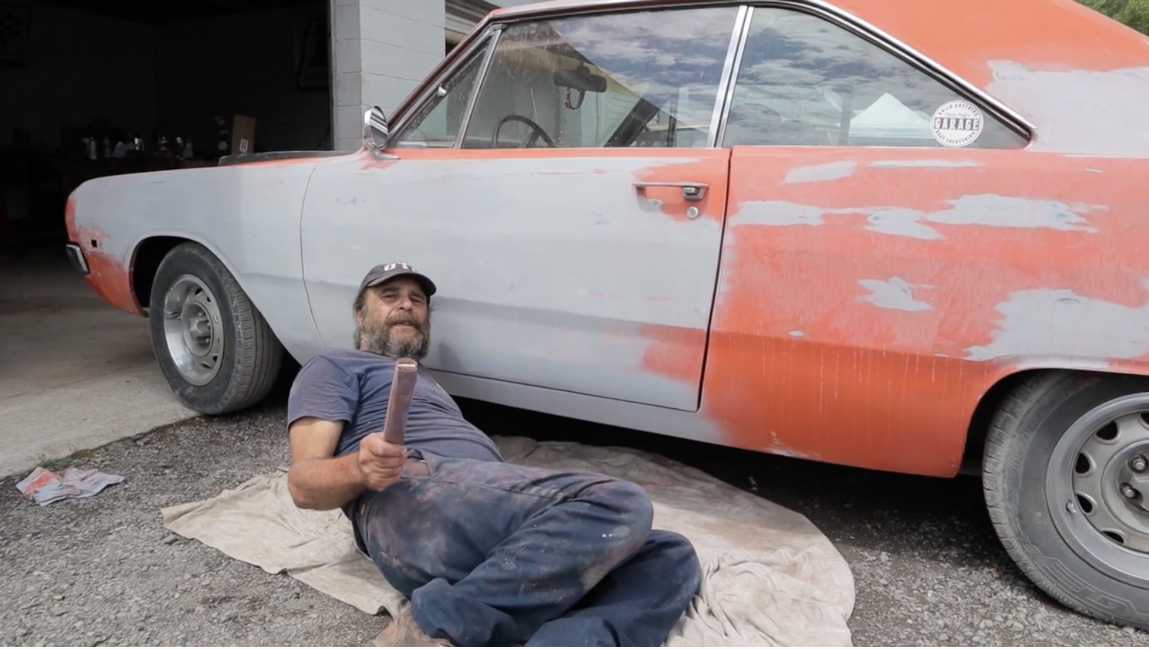 Home-Grown Paint Job? Yeah…Uncle Tony Has A Thing Or Two To Say About That