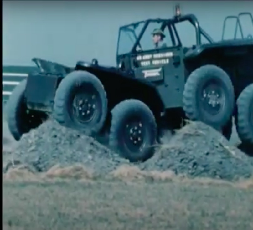 The Lockheed XM-808 Twister Is The Coolest Military Vehicle That Never Got Built – Wild Video