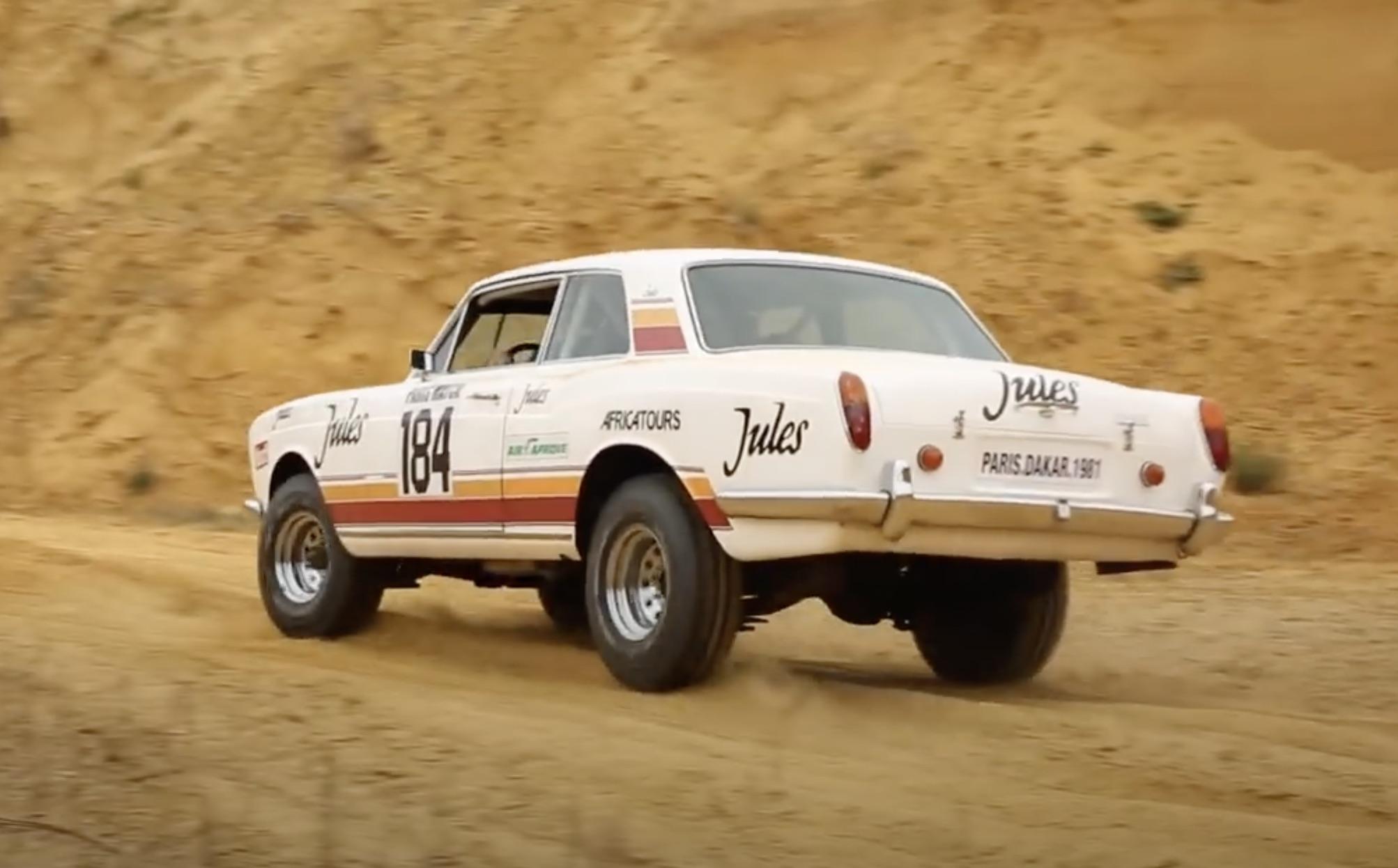 High Roller: The 1981 Rolls-Royce Corniche Coupé That Ran The Paris-Dakar