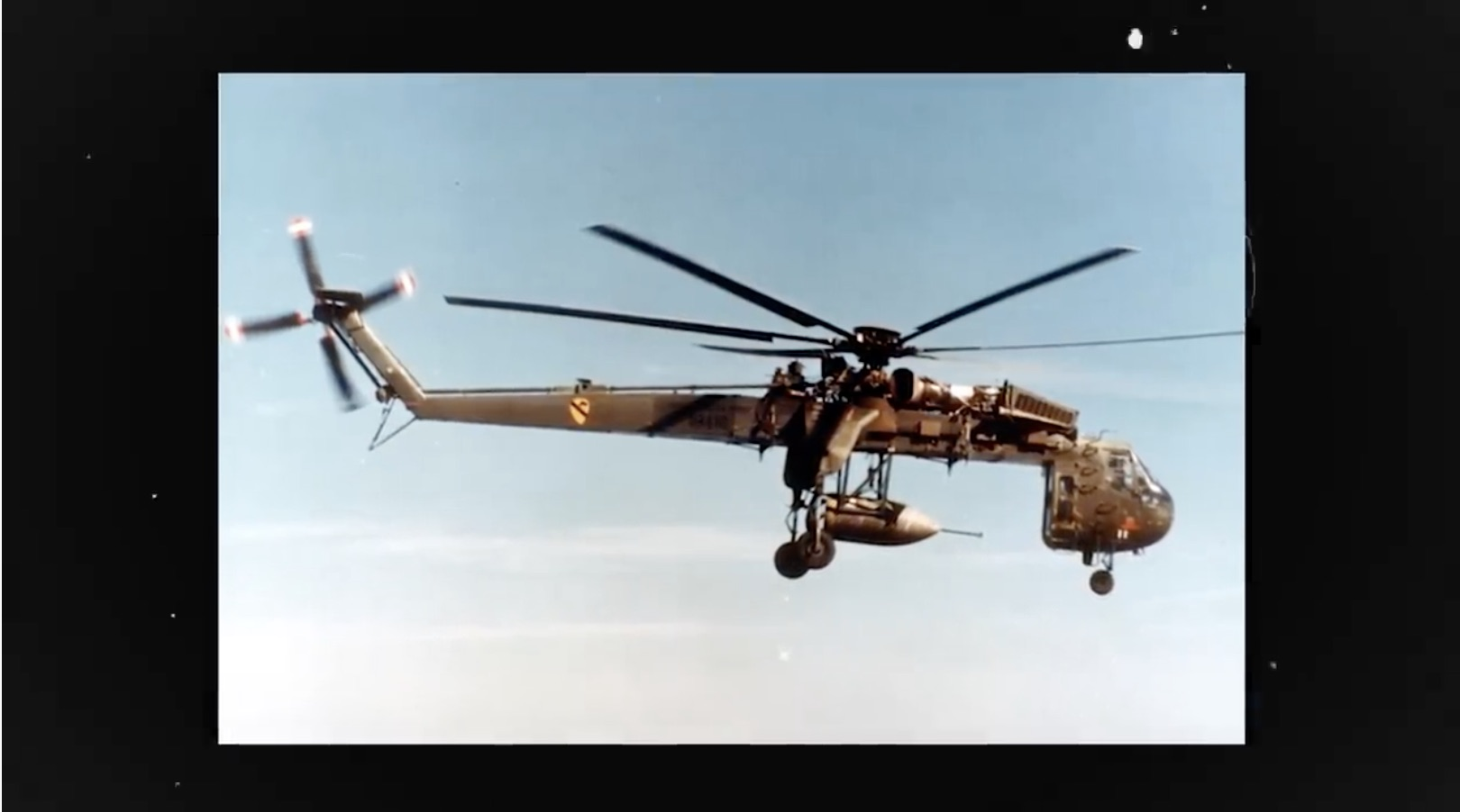 Daddy Long-Legs: The History Of The CH-54 Tarhe Heavy Lift Helicopter
