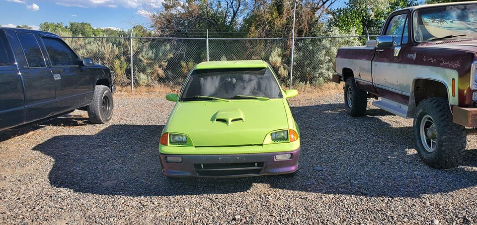 """The """"WTF?!"""" Files: 1993 Geo Metro Dually Truck Conversion In Full Trolling Mode!"""