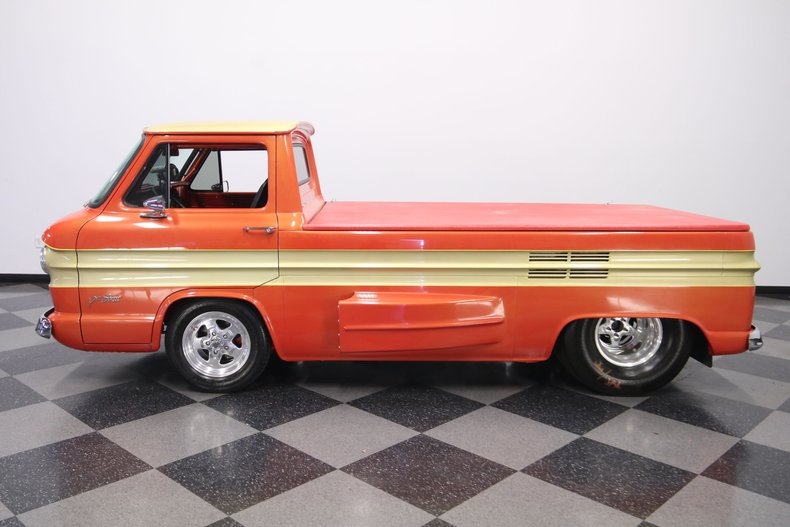 Dare To Be Different: This 1961 Chevrolet Corvair Rampside Pro Street Truck Is Awesome