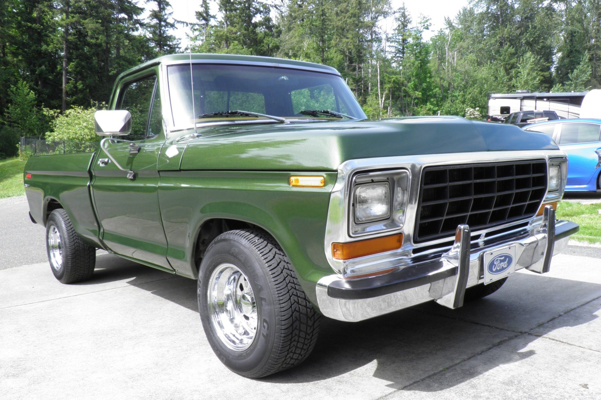 """The """"WTF?!"""" Files: 1976 Ford F-100 Custom, With Oldsmobile 455 Heartbeat!"""