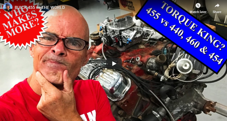 455 VS The World! Big Block Torque Monster Testing. Can Someone Steal The Crown From The Buick?