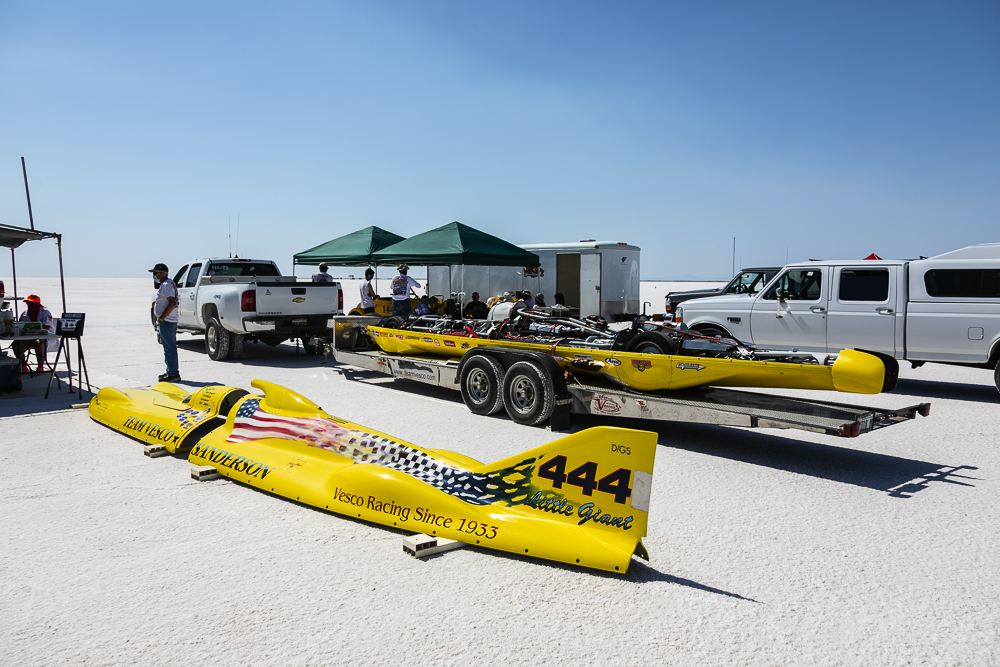 Our Bonneville Speed Week 2020 Photos Start Right Here! Pit Photos Of Cars Getting Ready For Tomorrow's Racing!