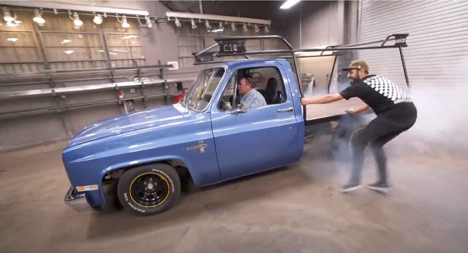 Speedy Delivery! This Chevrolet C10 Flatbed Is Giving Us Really Good Ideas!
