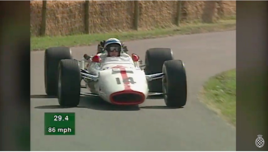 Driven In Anger: Watch John Surtees Drive A Honda RA300 V12 F1 Car Like He Is In His Prime!