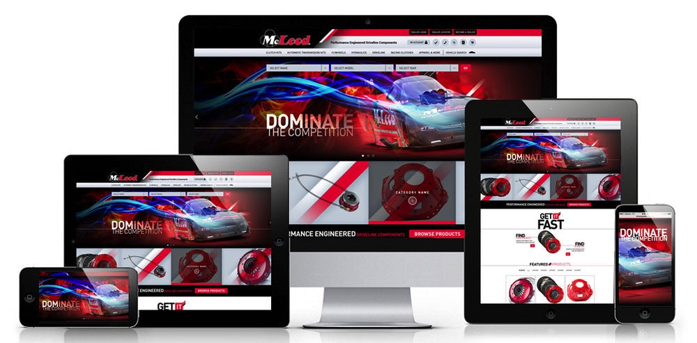 McLeod Racing Unveils New Website – Fresh Look, More Interactive, Easy To Navigate Dealer Network!
