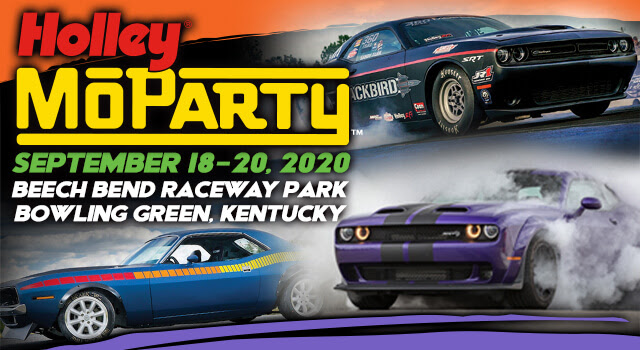 Mopar Freaks Rejoice! There Ain't No Party Like A MoParty! Holley's Inaugural MoParty Pre-registration now LIVE!