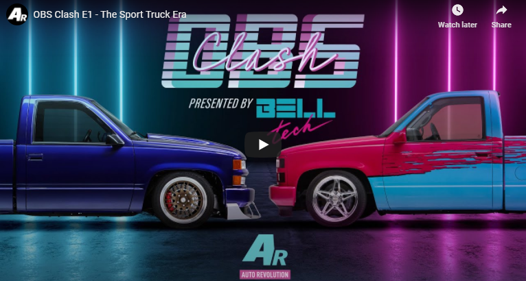 OBS Clash: The Birth Of An Icon Meant The Sport Truck Era Was Born.
