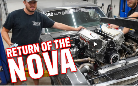 We HAVE OIL PRESSURE! The Record Setting Gen V LT Motion Raceworks Nova Is Back In Action!