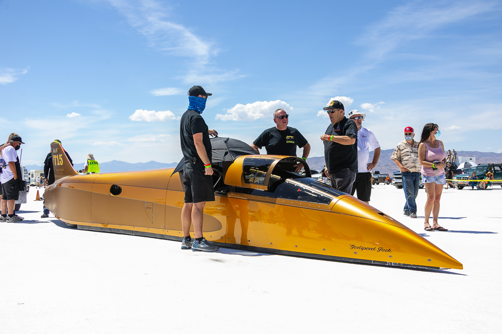 The Undisputed Sultan of Sodium: The Speed Demon Continues To Dominate The Bonneville Record Books – 481mph!