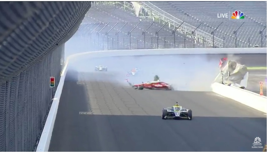 Watch Spencer Pigot's Monster Wreck At The 2020 Indy 500 – This Was The Crash That Effectively Ended The Rae