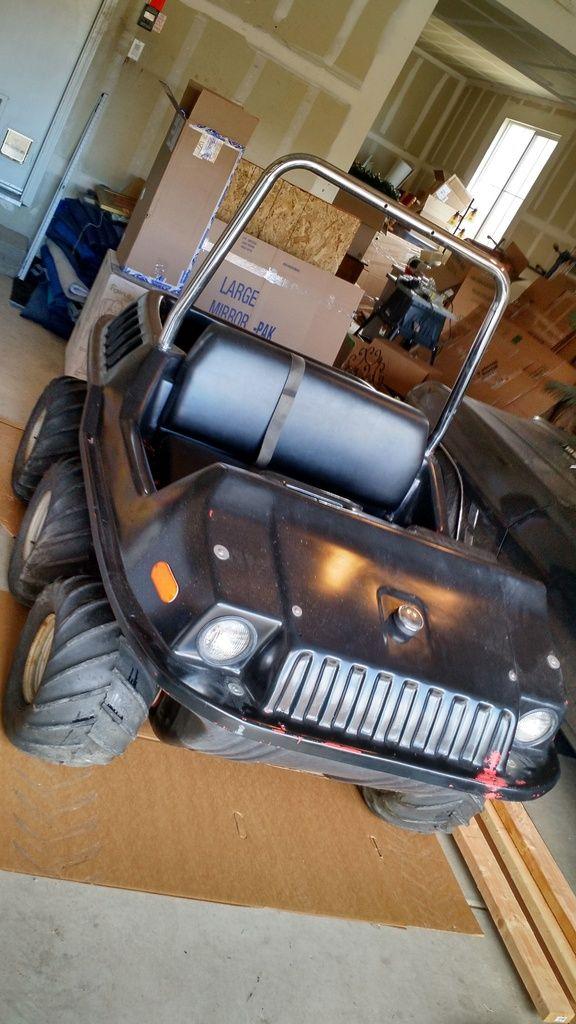 BangShift Project Files: MAX II 6×6 Amphibious ATV….EV?!