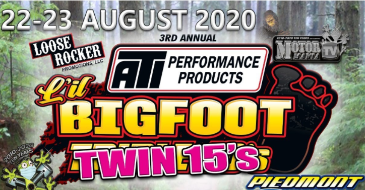 Lil Bigfoot Triple 10s Turns Into Twin 15's Due To Weather. Free Live Streaming Drag Racing Right Here!