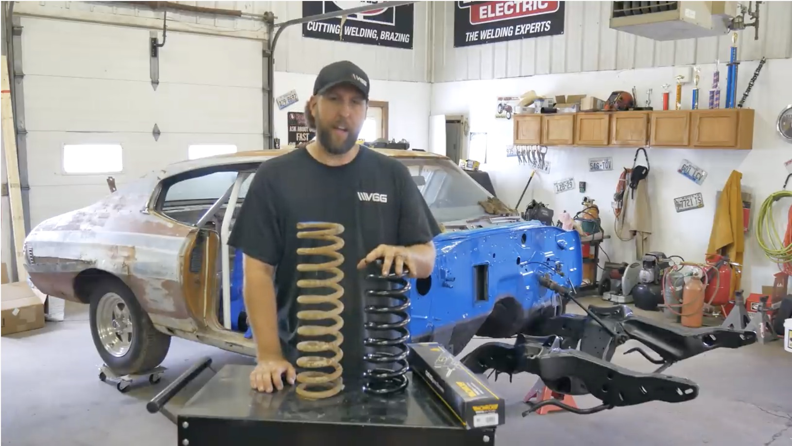Fixing Up The Front End: Vice Grip Garage's Chevelle Has Moved Into The Build Phase!