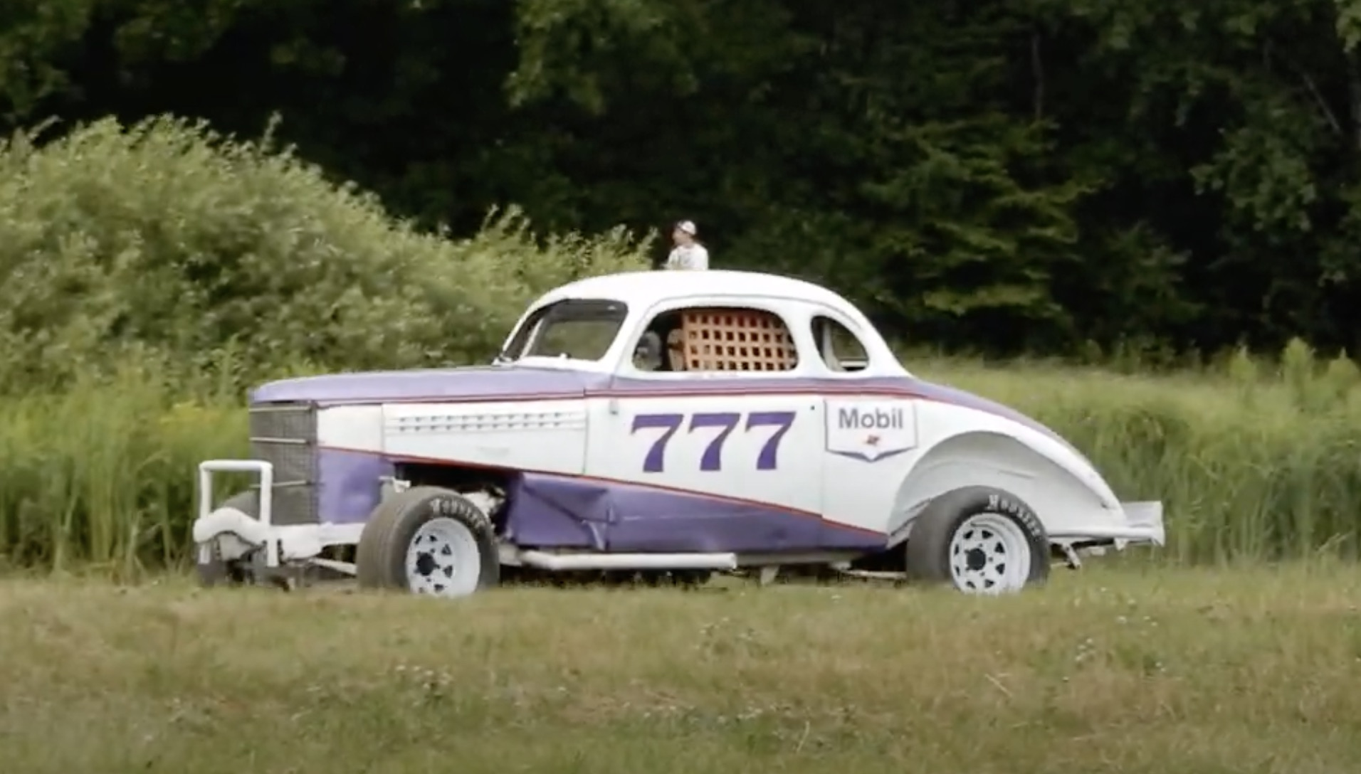 History In Action: Vice Grip Garage Takes The 1938 Chevrolet Racer Out For Laps!