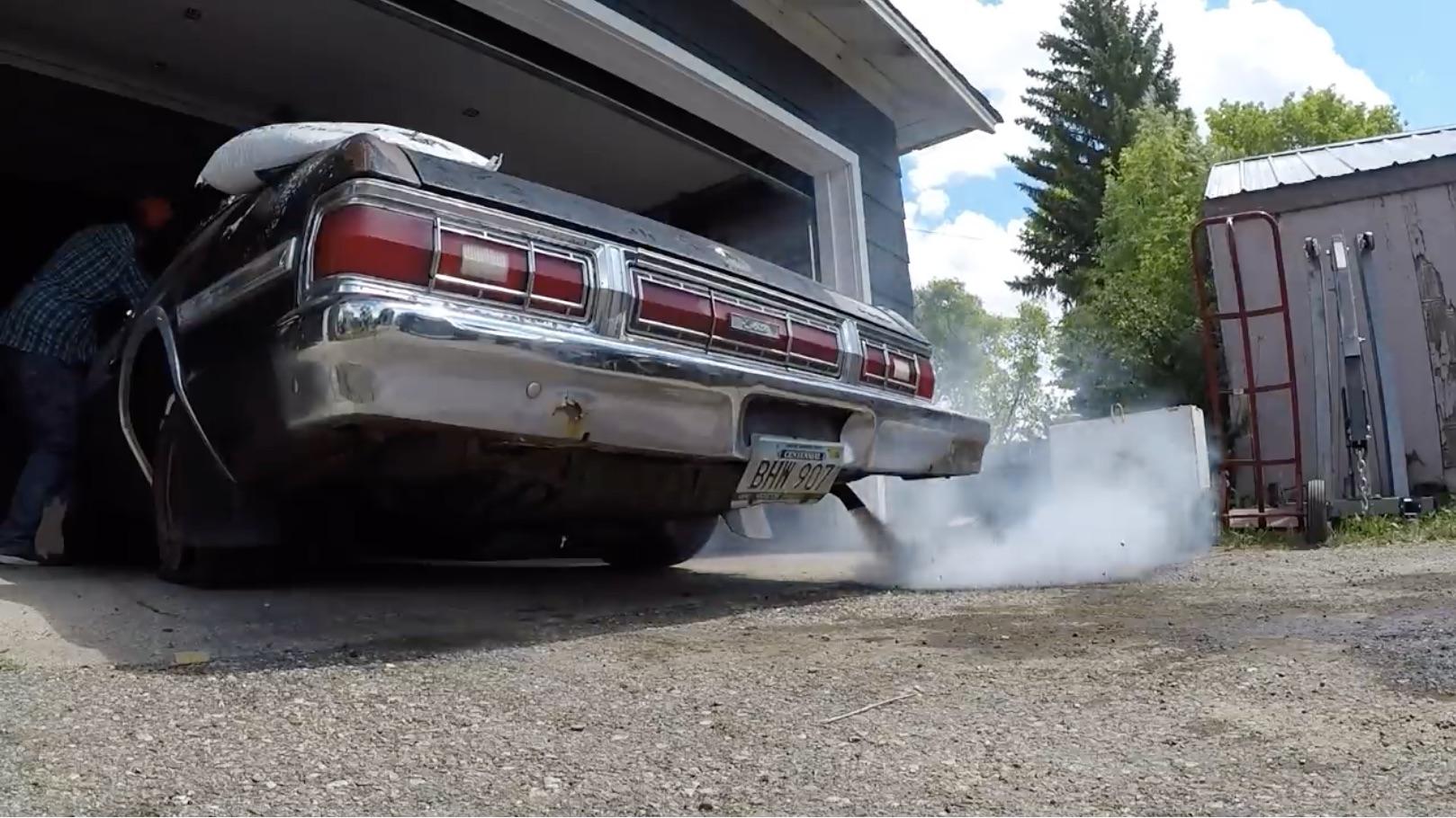 Upper Class Trash: Vice Grip Garage Wakes Up A 1975 Ford Gran Torino Elite