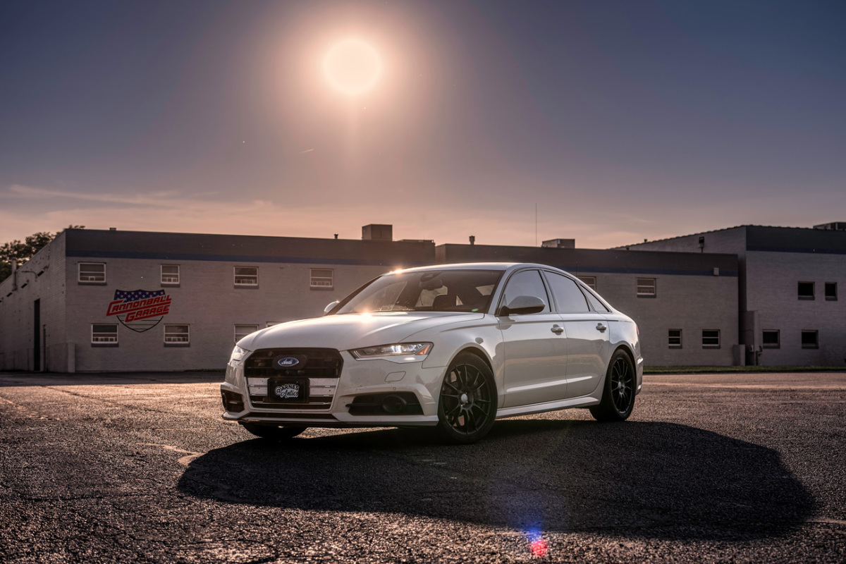 Diabolical Speed: The Latest Car To Break the Cannonball Record Is An Audi S6 Dressed To Look Like A Ford!