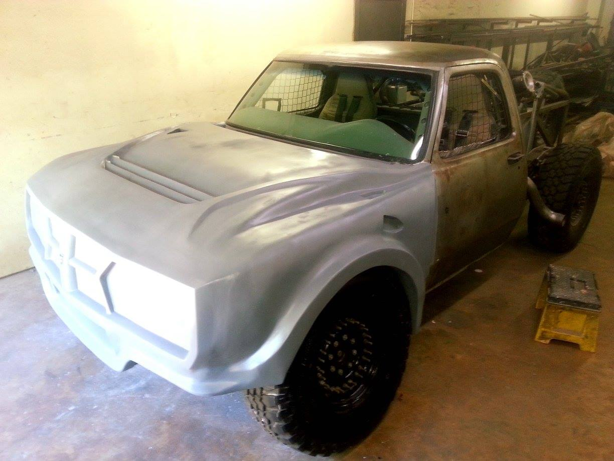 The Desert Truck Of Your Mopar Dreams: This Dodge Bodied Class 8 Baja Truck Is Nearly Done – Unique And Awesome!