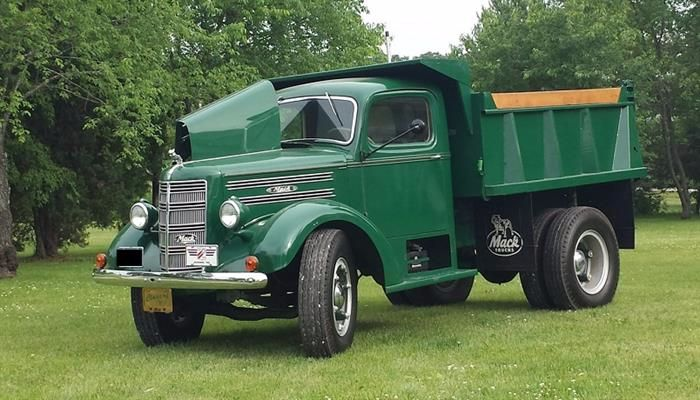 This 1949 Mack EF Dump Truck Is In Amazing Shape And Represents And Era Gone By