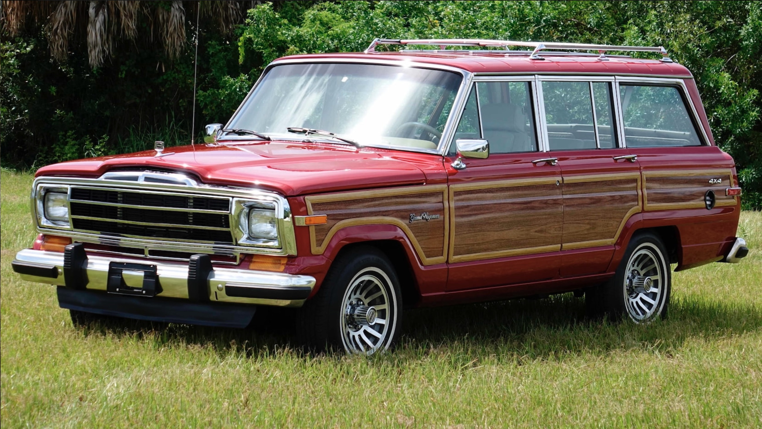 Money No Object: HELLWAGON! This 1989 Jeep Grand Wagoneer Is Packing Ma Mopar's Torque Monster!