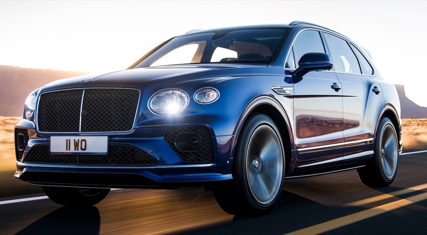 All Hail The SUV King: The 2021 Bentley Bentayga Speed Is A 626hp W12 Powered Monster