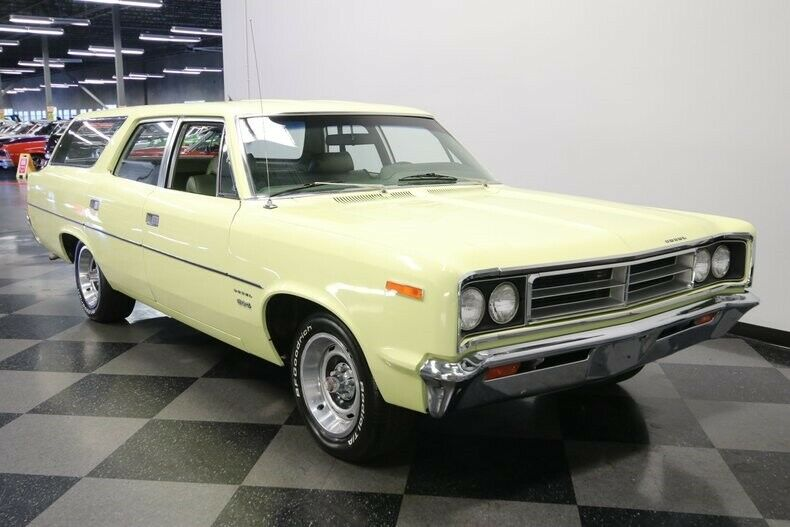 The Happy Rebel: This 1970 AMC Rebel Station Wagon Is A Perfect Cruiser Or Starting Point For Your Wild Build