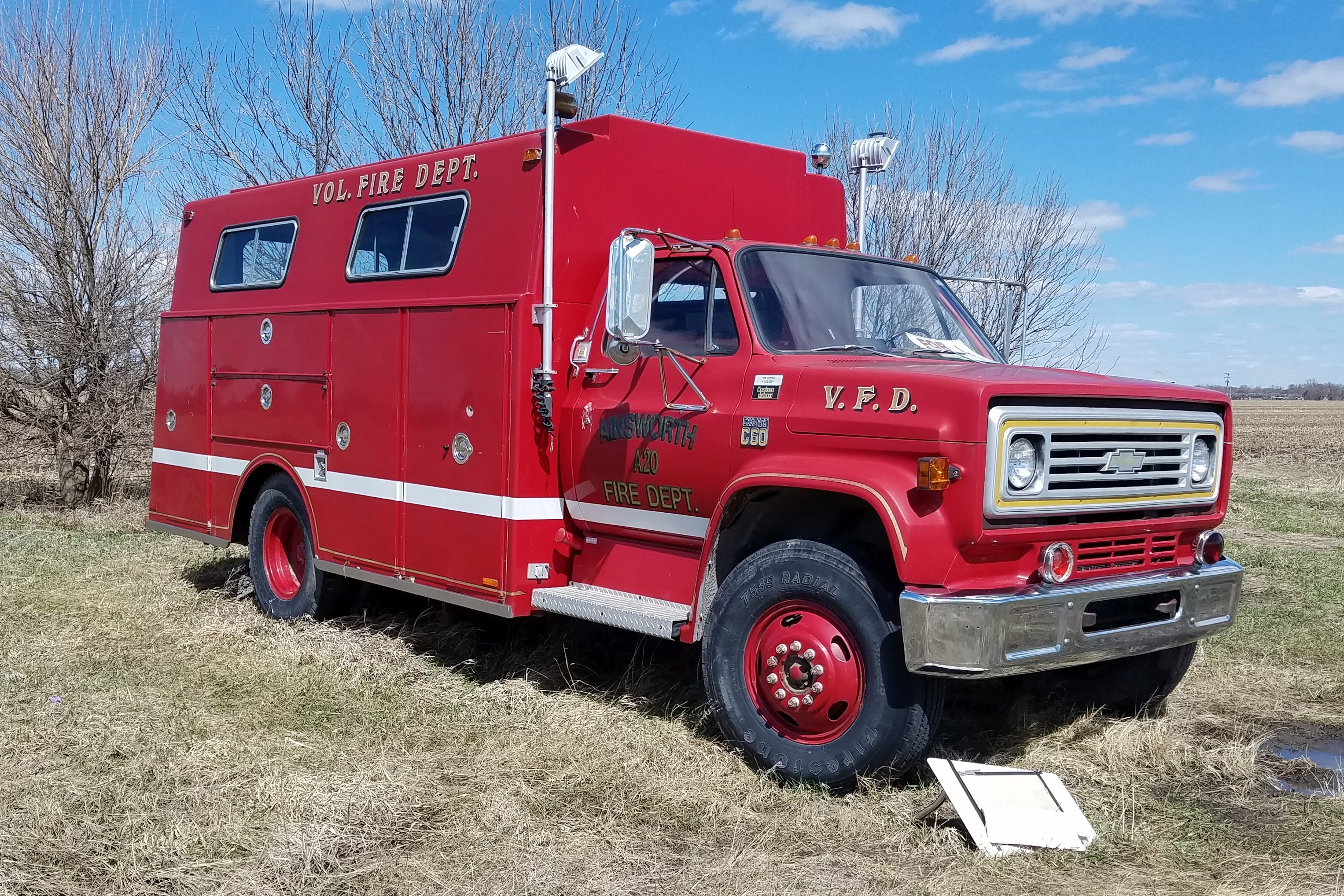 Roadtrippin': Seeing Outside The Obvious…Fire Truck Dreams